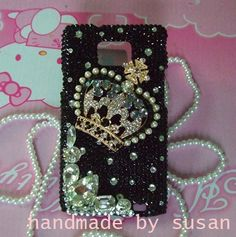 black crown iphone 4 case iphone 4s case iphone by IPhoneCasesDIY, $24.99