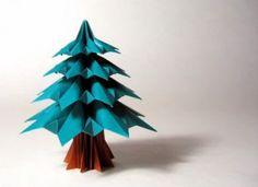 Origami Christimas Tree