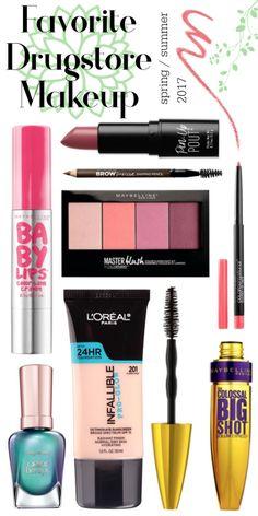 Favorite Drugstore Makeup | Spring & Summer 2017