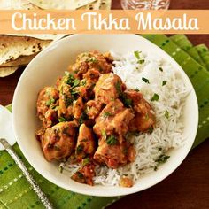 Recreate this spicy Indian favorite for dinner tonight with just a few simple ingredients. #chicken #recipes