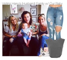 """""""Visiting Harry's (Husband) Family w/ Our Baby"""" by fangirl-1d ❤ liked on Polyvore featuring adidas, Marc Jacobs, Bliss Diamond, women's clothing, women, female, woman, misses and juniors"""
