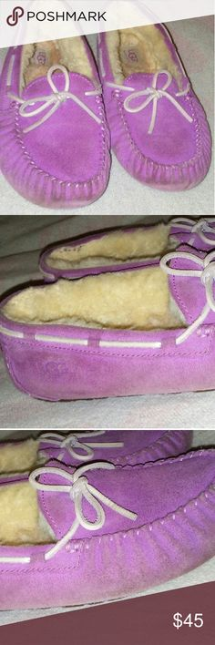 Pink uggs Good condition UGG Shoes Moccasins
