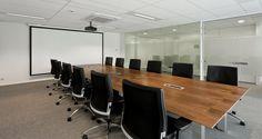 Meeting room into the premises of Stanley B&D in Diegem, Belgium