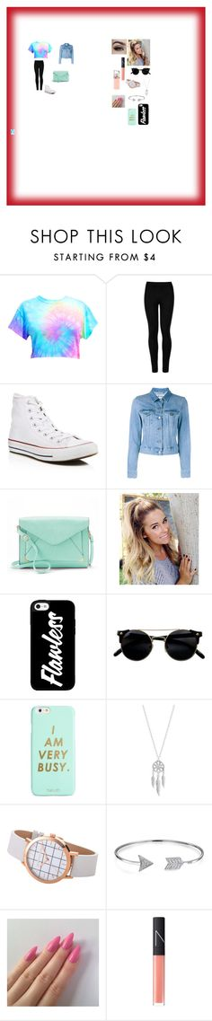 """""""Bestie (Caitlan)"""" by ivieoww on Polyvore featuring Wolford, Converse, Acne Studios, Apt. 9, ban.do, Lucky Brand, Bling Jewelry, NARS Cosmetics and HUGO"""