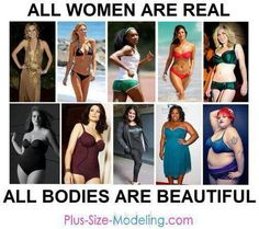 """All beautiful, skinny, plus size, athletic, short, tall, stretch marks and scars... there isn't a single one that is """"ugly"""" to me"""