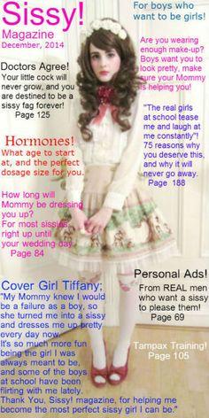 Captions for Sissy Bimbos : Photo Male Humiliation, Humiliation Captions, Prissy Sissy, Sissy Boy, Petticoated Boys, Girls, Transgender Captions, Pretty White Dresses, Feminize Me