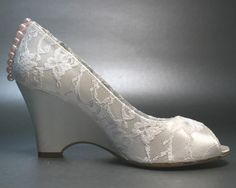 Want want want want want........... Hey, I found this really awesome Etsy listing at http://www.etsy.com/listing/124213607/wedding-shoes-ivory-wedges-with-ivory