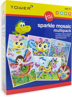 Enjoy all your favourite designs in one pack! These multipacks are the ultimate 'edutainment' product that will keep kids entertained for hours while having fun learning! Office Organisation, Colour Board, Fun Learning, Mosaic Tiles, Your Favorite, South Africa, Have Fun, Arts And Crafts, Tower