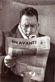 Albert Camus,  fue un novelista, ensayista, dramaturgo, filósofo y periodista francés nacido en Argelia.