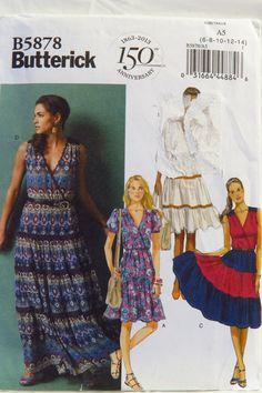 Butterick 5878 Misses' Dress