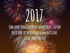 Mensagens e Frases Curtas de Ano Novo 2017