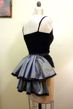 Shop for steampunk on Etsy, the place to express your creativity through the buying and selling of handmade and vintage goods. Costumes 2015, Bustle Skirt, Feather Headband, Burlesque, Fascinator, Steampunk, Ballet Skirt, Etsy Shop, Trending Outfits