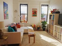 Kathy & Jared's Open Floor Plan — Small Cool Contest | Apartment Therapy