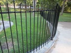 Iron Fences, Outdoor Structures