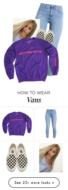 """Untitled #1689"" by dogs109 on Polyvore featuring Vans"