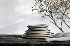 Stoneware Assiettes
