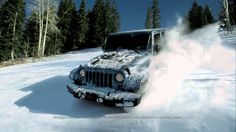 """Jeep® Wrangler   """"A Little Snow"""" Commercial"""