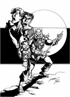 John Jameson as the Stargod Horror Comics, Marvel Comics, Comic Books Art, Comic Art, Book Art, George Perez, Black White Art, Mans World, Bronze Age