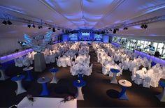 Corporate Event - Hausmesse Jubiläum #Eventzelt #Eventbeleuchtung #Zeltdekoration