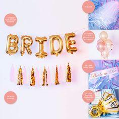 Verkrijgbaar via Bol.com Confetti, Banner, Bride, Party, Banner Stands, Wedding Bride, Bridal, Parties, Banners