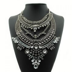Elizabeth Luxury statement necklace Luxury crystal statement necklace. Please no trades. Price is firm unless bundled... To which I offer a fabulous 20% discount when you purchase 3 or more items!!! Jewelry Necklaces