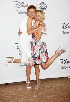 Hayden Panettiere and Connie Britton 2012 TCA Summer Press Tour ABC Nashville