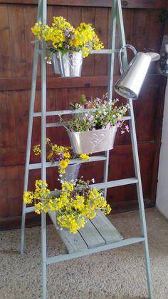 Estanteria decorativa tipo escalera de tijera #designbyxkun