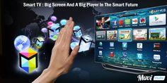 Smart TV : Big Screen And A Big Player In The Smart Future - Muvi Studio