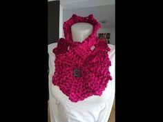 Siem's Five in a Row Chunky Cowl Shawl - Crochet - Tutorial - English - YouTube