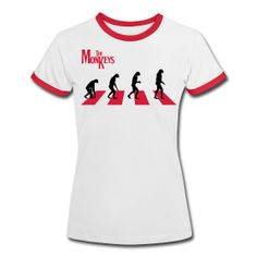 The Monkeys Red Alert - Camiseta contraste mujer - Involution project inutile.spreadshirt.es