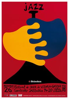 Historia: Carteles del Festival de Jazz de Vitoria-Gasteiz