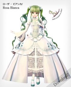Rosa Bianca Hatsune Miku - Koron Style - Download! by xDreamShardsx.deviantart.com on @DeviantArt