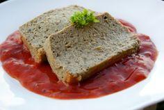 pain aubergines, coulis tomates basilic
