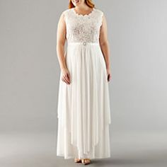 77da737b00152 Special Occasion White Dresses for Women - JCPenney