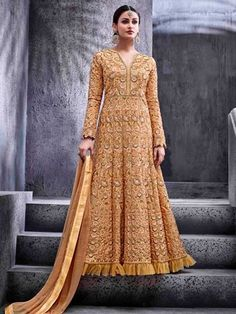 Indian Designer bollywood shalwar party wear long anarkali salwar kameez dress #Handmade #SalwarKameezSuit