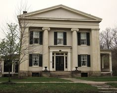 Norwalk Ohio, Greek Revival Home, The Buckeye State, Antebellum Homes, Ohio Usa, Mountain Homes, Victorian Houses, Classical Architecture, Large Homes