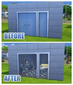 Mod The Sims - Fix for Simple Glass Double Door and Stark Front Door