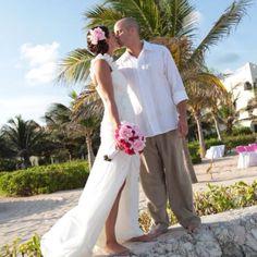 Love him!! Our wedding 9/10/11 Mexico