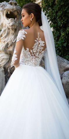 Wedding Dress by Milla Nova White Desire 2017 Bridal Collection - Jersaey