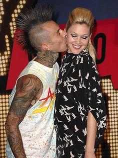 Ink Tattoos Travis Barker Shanna Moakler Crush