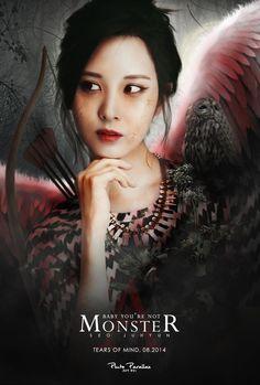 Seohyun by Pluto Parallax Snsd, Sooyoung, Yoona, South Korean Girls, Korean Girl Groups, Photo Grouping, Kpop Fanart, Korean Actresses, Monster