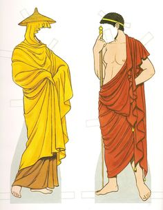 Ancient Greece - Paper dolls