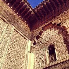 Paola.   #arabesque #architecture #morocco - @camilogaravito- #webstagram