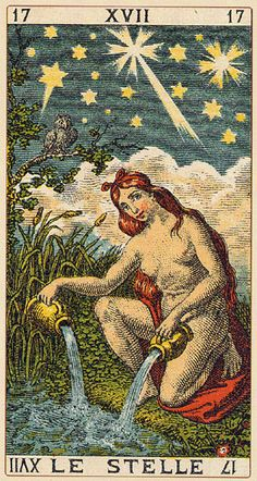 The Star - Ancient Italian tarot