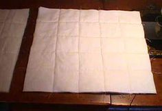 Joining Pre-Quilted Blocks..I have re read these instructions...they are really clear and concise...USE THIS METHOD