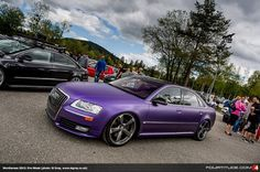 Audi A8 D3  at 2013 Worthersee Pre-Week (photo: Si Gray)