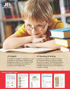JEI English provides an easy to grasp program for grades Pre-K to 9 .The program progresses in small steps and makes learning engaging and effective. For more information or to book an appointment contact us at (647) 693-9335 or visit our website at www.jeiyork.ca #english #Tutoring #learning #Toronto #education Enrichment Programs, Learning Methods, How To Gain Confidence, Learning Centers, Literature, English, Student, Writing, Education