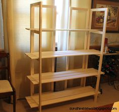 Craft Fair Display Rack - actually I didn't make this, Jeff did. Craft Fair Display Rack - actually I didn't make this, Jeff did.