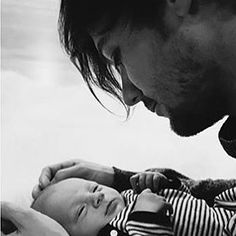 Louis and his beautiful baby Freddie!