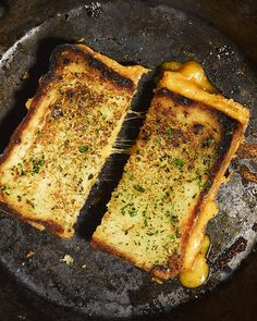 Garlic Bread Grilled